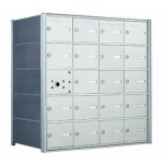 20 A-size Door Horizontal Mailbox Unit - Front Loading - 140054A  !!!